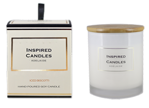 Iced Biscotti Soy Candle 250gm