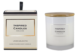 Lychee & Black Tea Soy Candle 250gm