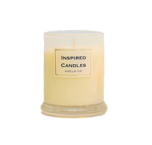 Medium unboxed soy candle Lime Basil Mandarin