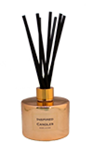 Limited Edition copper reed diffuser - Lime, Basil & Mandarin